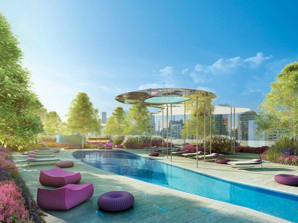Gallery Of One Bloor Hariri Pontarini Architects 1 Toronto Condo Condominium Rooftop Terrace