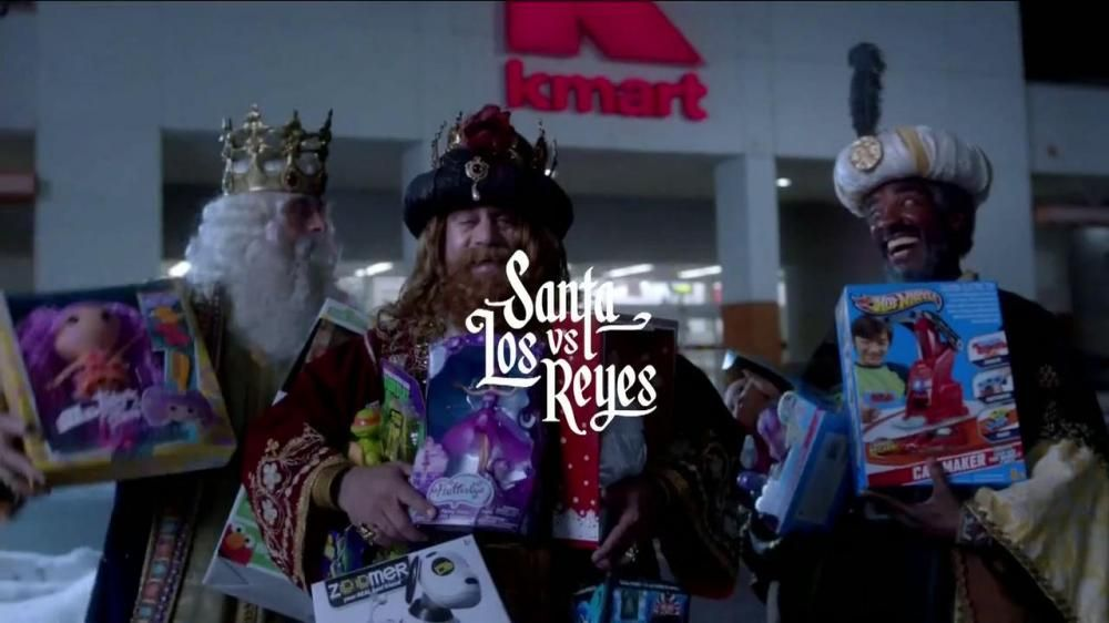 Kmart TV Spot, 'Santa vs Los Reyes' Spanish - Screenshot ...