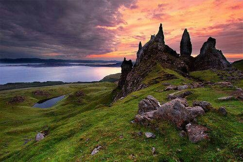 The Old Man of Stor, Isle of Skye, Scotland.
