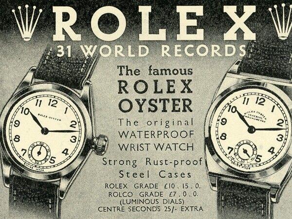 ساعت رولکس وینتیج آگهی