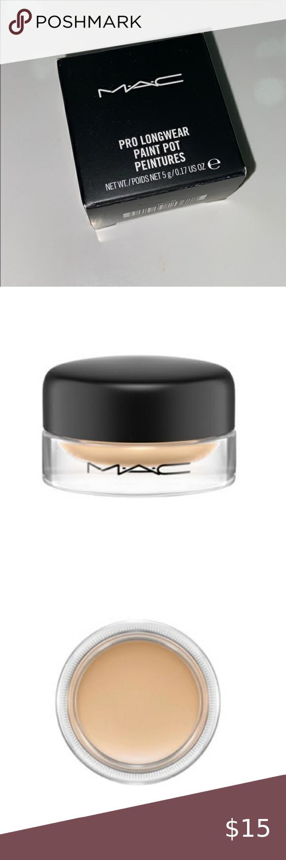 MAC Pro Longwear Paint Pot in 2020 Painted pots, Makeup