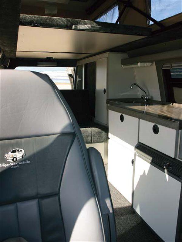Sleeping Interior sportsmobile conversion | rvnv | 4x4 van ...