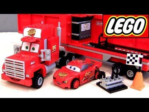 Lego Cars 2 Mack S Team Truck 8486 Lightning Mcqueen Mack Truck Hauler Lego Cars Mack Trucks Lightning Mcqueen