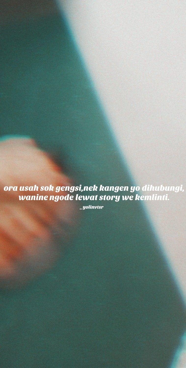 Pin Oleh Gadis Marethsa Di Quotes Jowo Ungkapan Lucu Kutipan