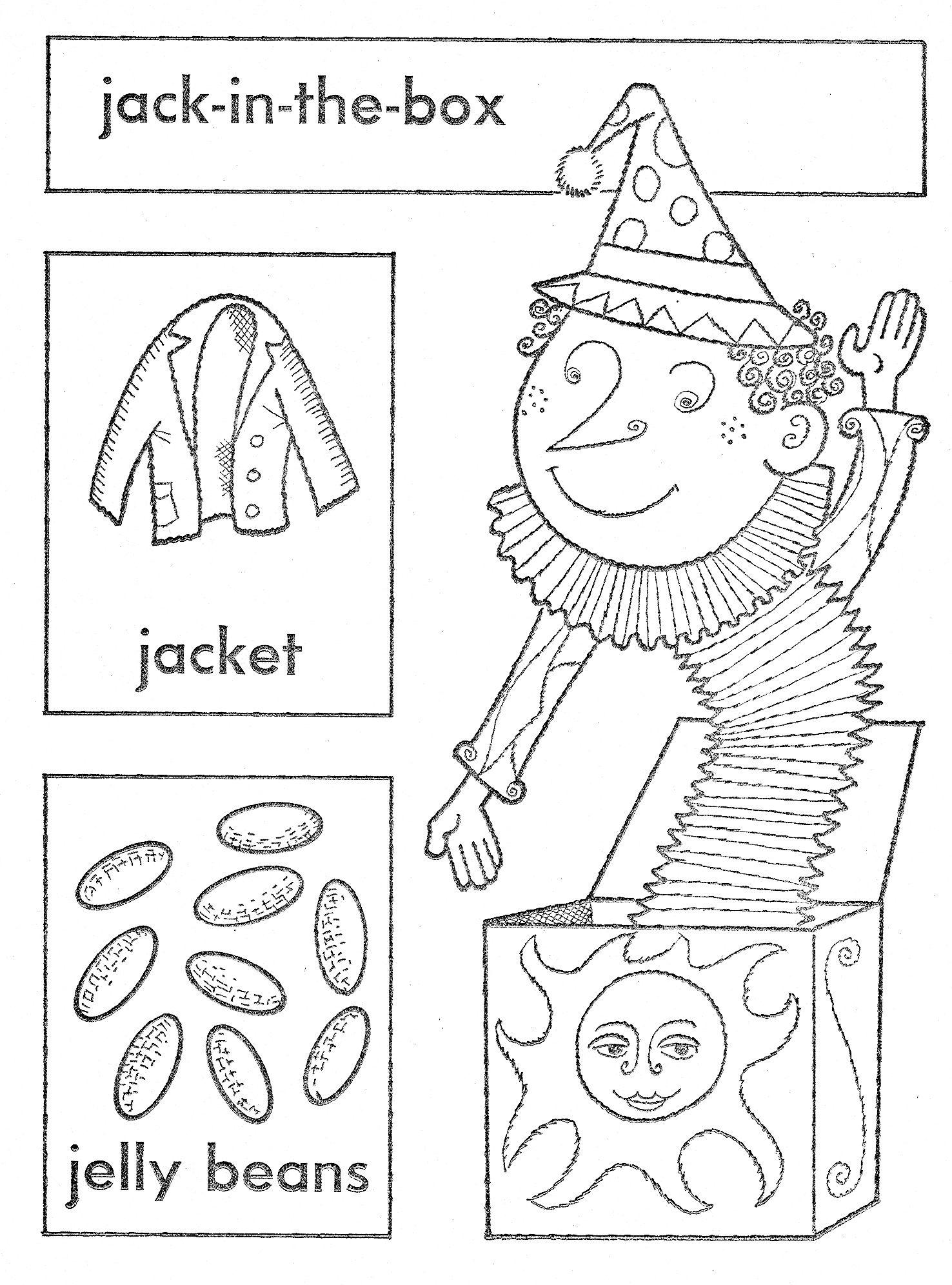 Jack In The Box Preschool Worksheets