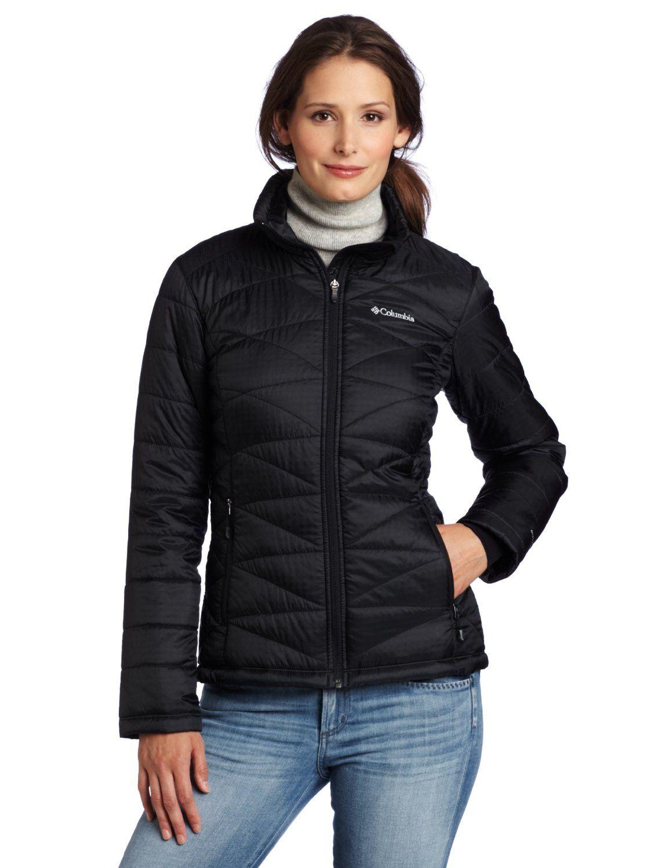 Columbia Womens Mighty Lite III Jacket, Small, Black