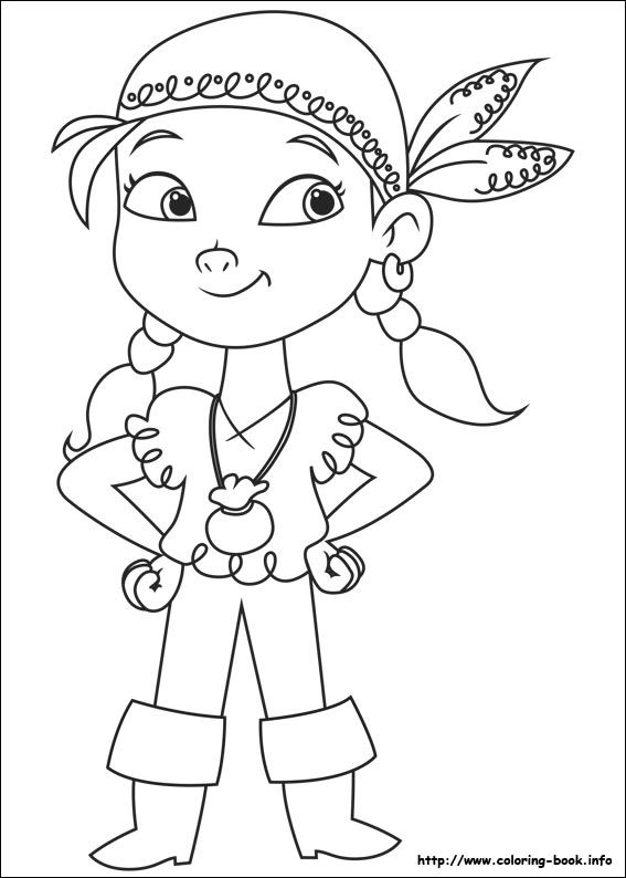 Jake and the Never Land Pirates coloring picture | Piratas ...