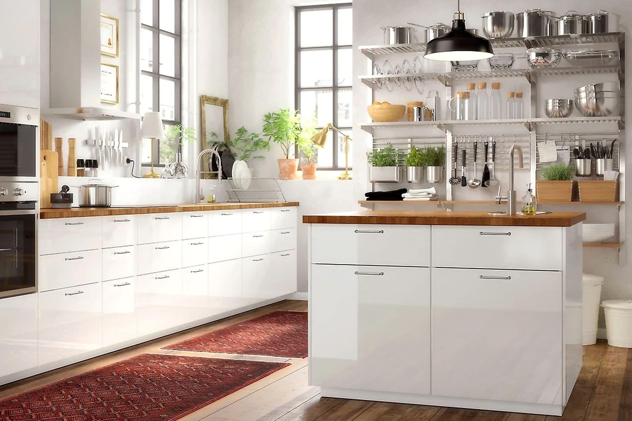 Keuken Ikea Open : Ikea keukens een keuken nee jow keuken durchgehend keuken design