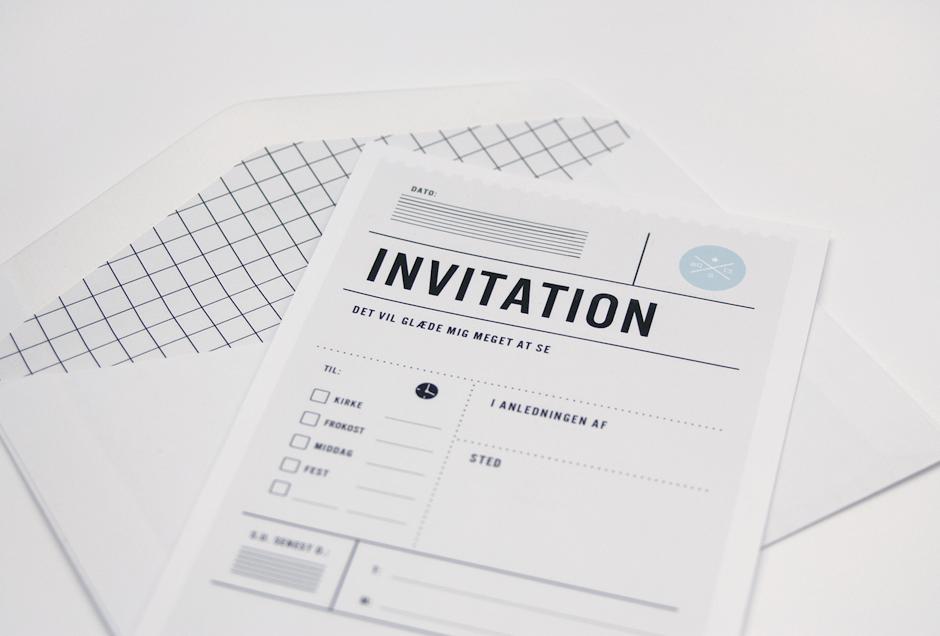 Nye Invitationer Til Konfirmation Og Barnedab Invitationer Invitation Barnedab