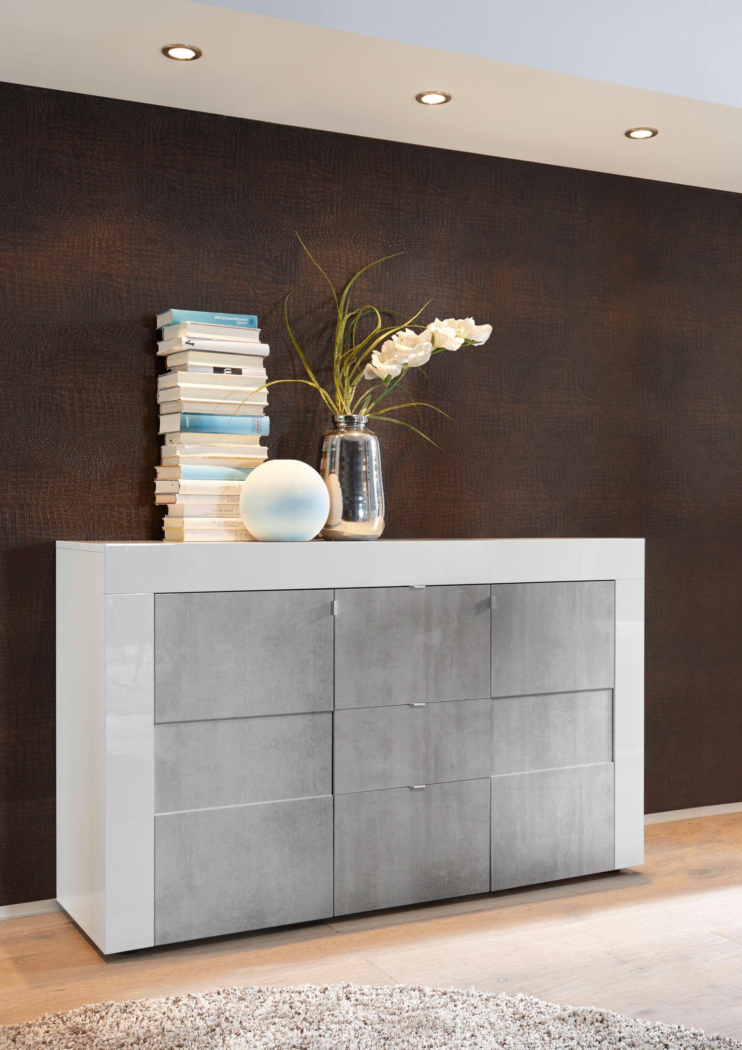 LC Sideboard »EASY« weiß, mit Schubkästen, FSC®-zertifiziert Jetzt ...