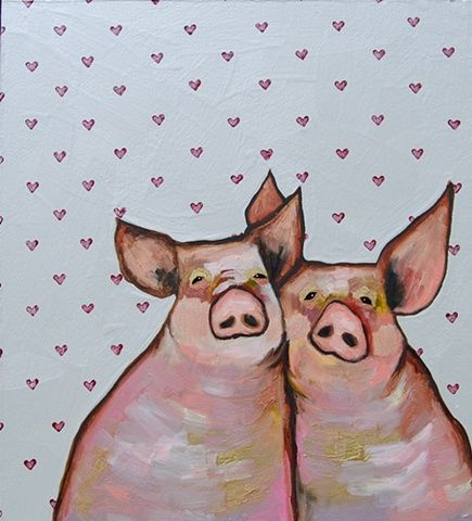 Two Hogs in Hearts