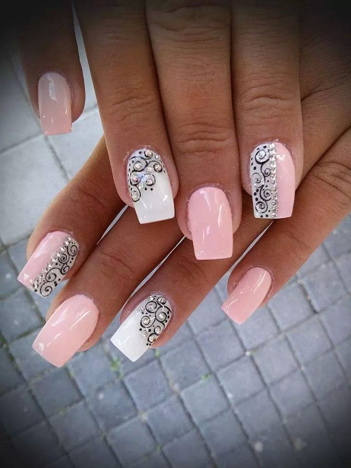Rózsaszín | Love it | Pinterest | Manicure, Nail nail and Makeup