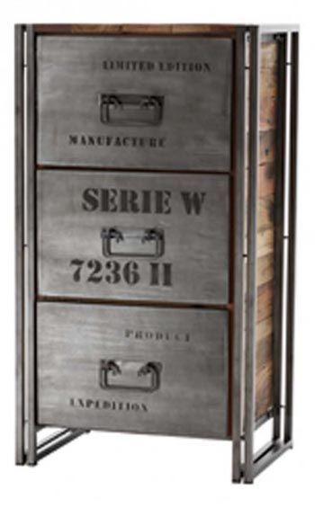 Petit Meuble De Rangement Style Industriel Samudra Petit Meuble Rangement Mobilier De Salon Meuble Rangement