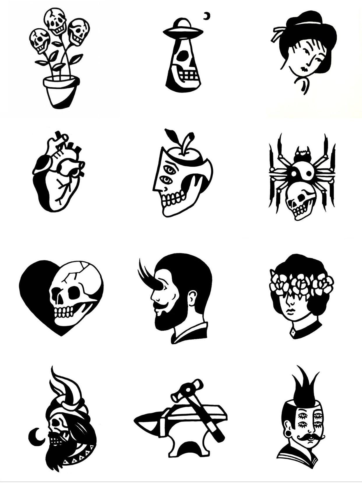 пин от пользователя Egor Kit на доске эскиз черная татуировка