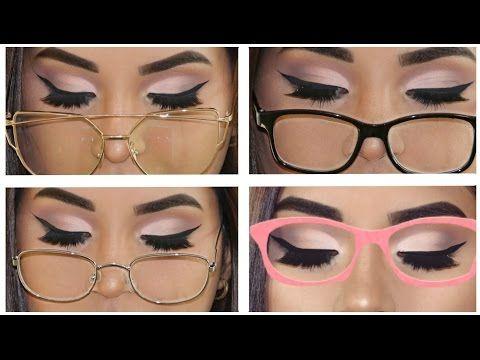 b83430766d TUTORIAL DELINEADO de ojos para gafas, lentes o anteojos PARA PRINCIPIANTES  paso a paso - YouTube