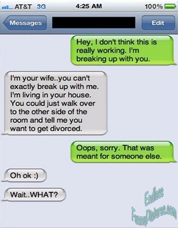 Divorce text