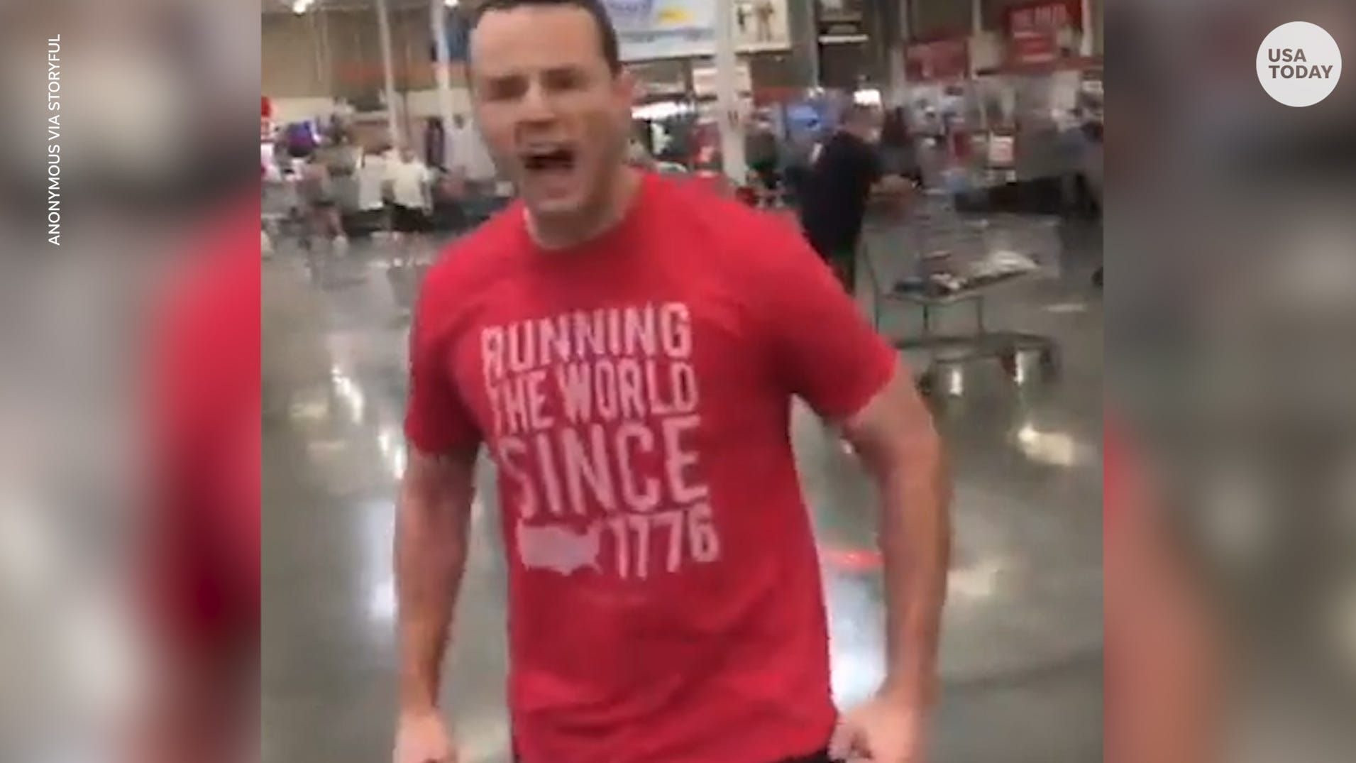 Man in viral Florida Costco video defends himself after