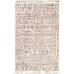 benuta Trends Kurzflor Teppich Laila Beige/Braun 115×170 cm – Moderner Teppich für Wohnzimmerbenuta.