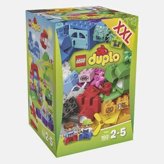Another Special Exclusive item--Not offer to any Country and also not selling in LEGO Official shop  Lego DUPLO 10622 My First Large Creative Box  − 193 PCs − With Figures and instruction − Suitable for kids start from 2   If anyone interested in this item, please email to info@brickstoy.com