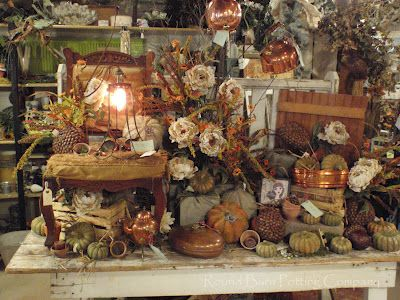 Round Barn Potting Company: Random Fall Love
