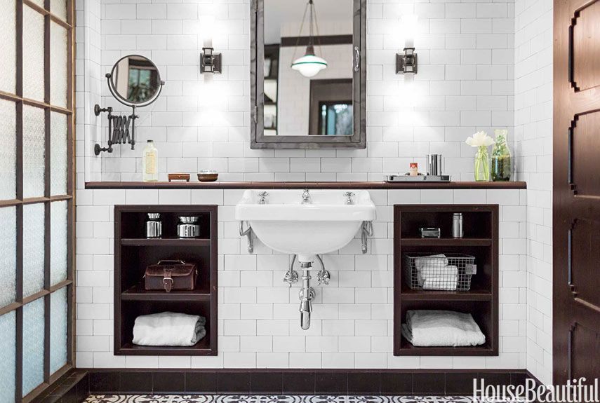 An Industrial Chic Bathroom Bathroom Industrial Chic Chic Bathrooms Bathroom Design