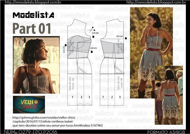 ModelistA: A3 NUMo 0279 DRESS