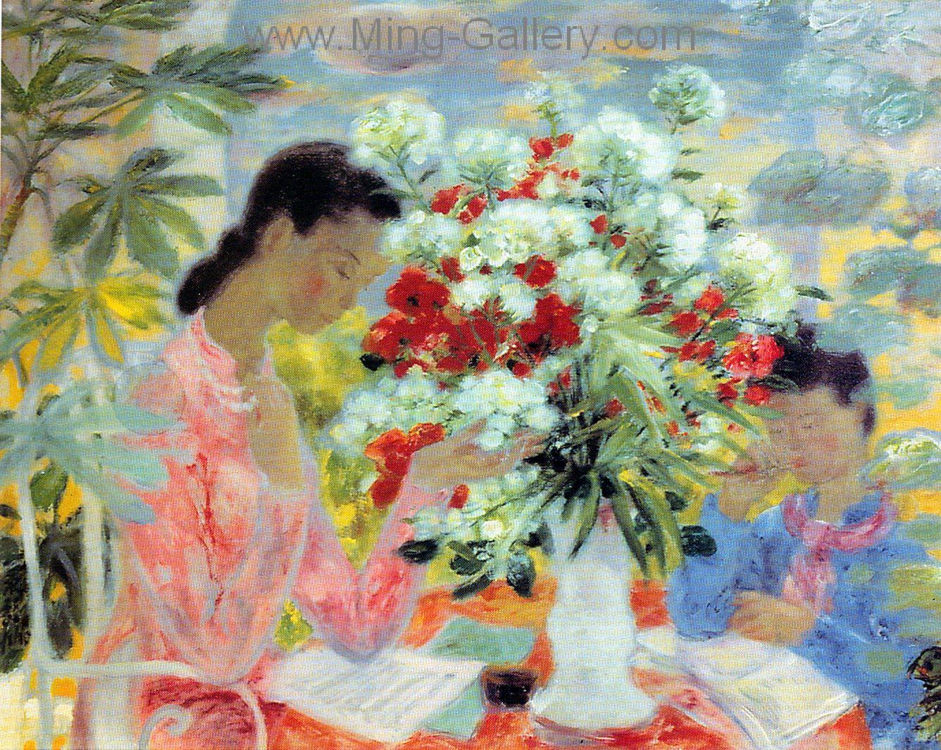 Vnl0023 Le Pho Vietnamese Art