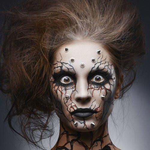 pretty halloween makeup ideas for women - Google Search Halloween - halloween horror makeup ideas