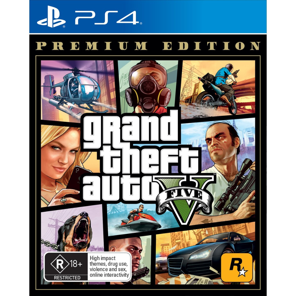 Grand Theft Auto V Premium Edition Grand Theft Auto Rockstar