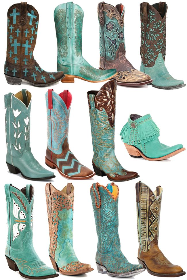 1000  ideas about Turquoise Cowboy Boots on Pinterest | Cowgirl ...