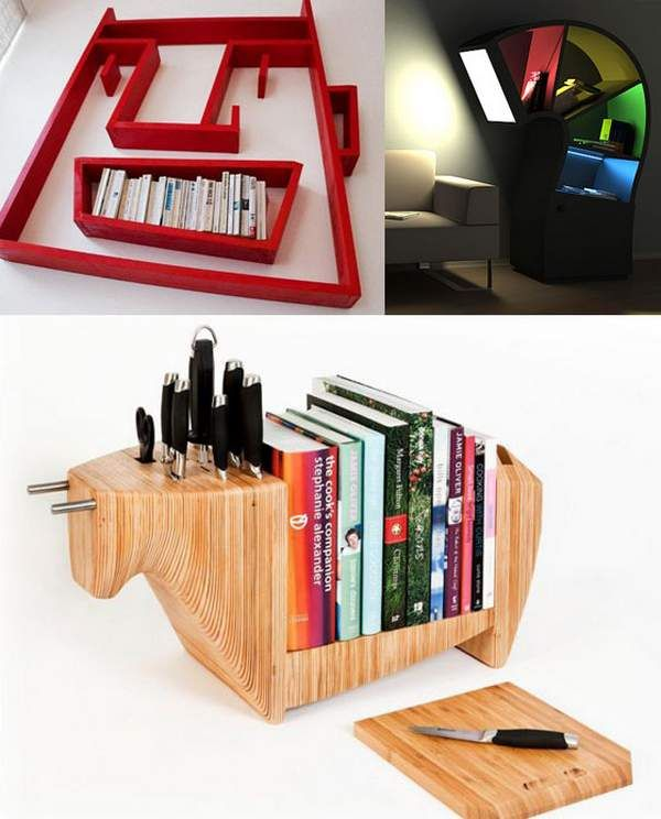 A place to store your cook books
