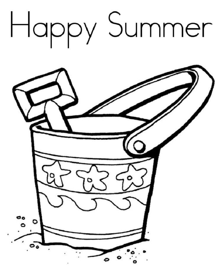 Easy Summer Coloring Pages Cool Coloring Pages Summer Coloring Pages Summer Coloring Sheets
