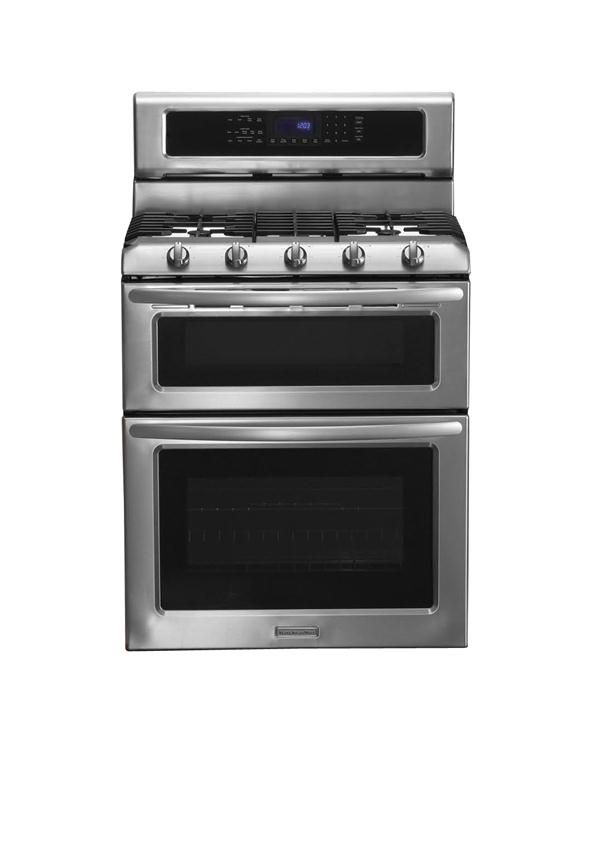 Double Oven Range From KitchenAid