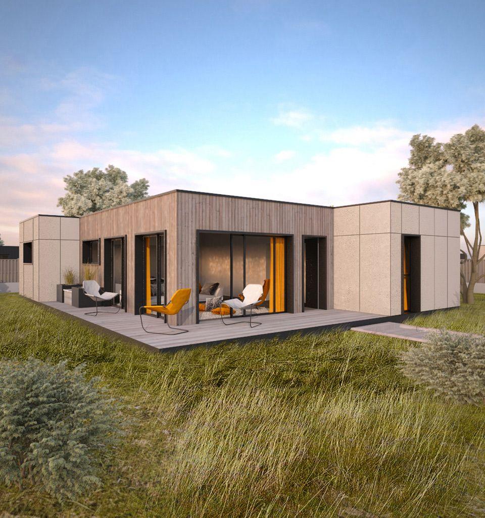 Constructeur Maison Container Nord eloft - dhoni light - maison modulaire bretagne