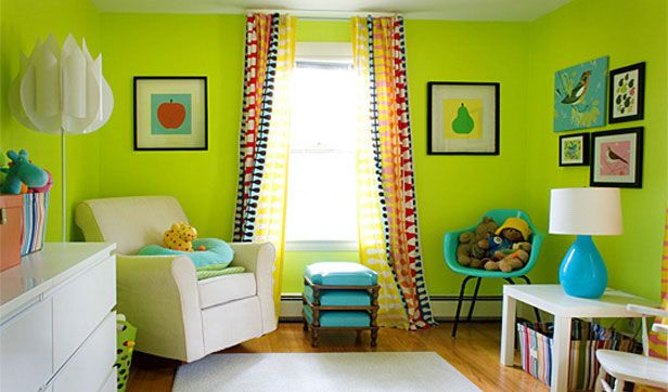 Neon Green Room Madison Mamas A Place For Moms And Families With Young Children In Wi