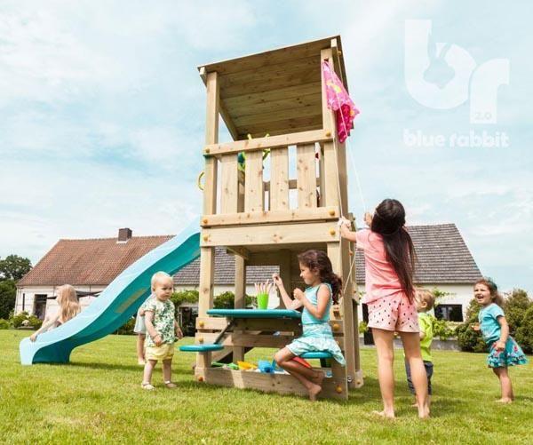 Parque de madera para niños - Modelo de exterior Torre Casacade ...