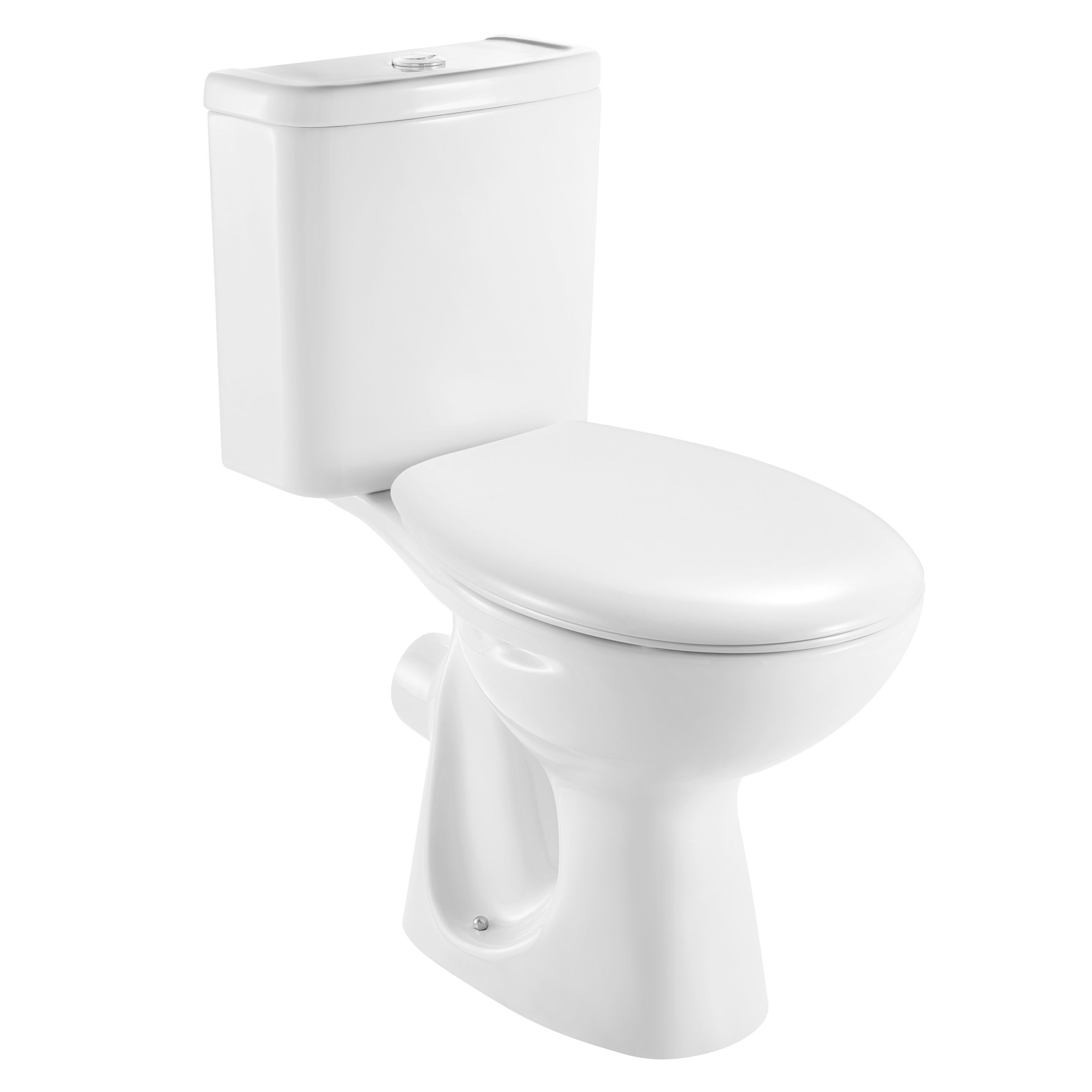 Incredible Plumbsure Truro Contemporary Close Coupled Toilet With Machost Co Dining Chair Design Ideas Machostcouk