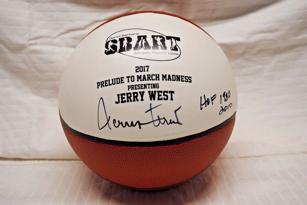 ed3bfe5f1 eBay  Sponsored Jerry West Hall of Fame HOF Signed LA Los Angeles Lakers  Basketball Autograph