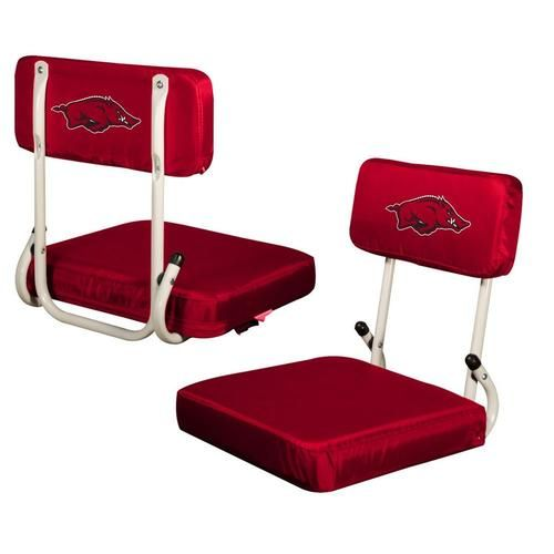 Arkansas Razorback Stadium Seat Folding Bleacher Chair