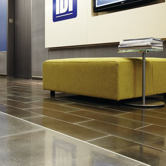 Home Office Vinyl Flooring Tiles In Dubai: Modern Office. Daltile. Steel Floor! Floor Tile
