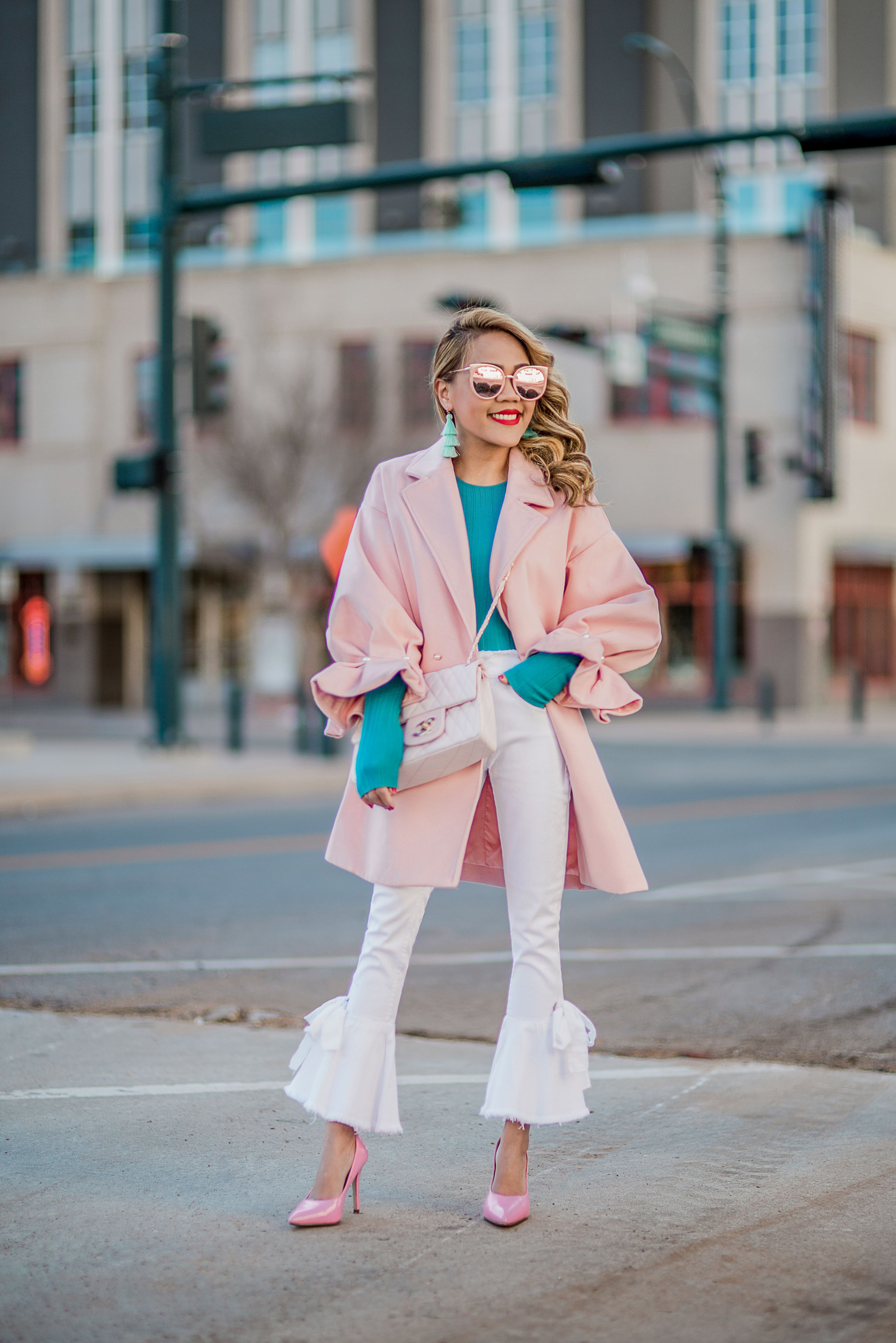 757caca2834c PINK IS THE PERFECT WINTER COLOR – The Len Parent Style