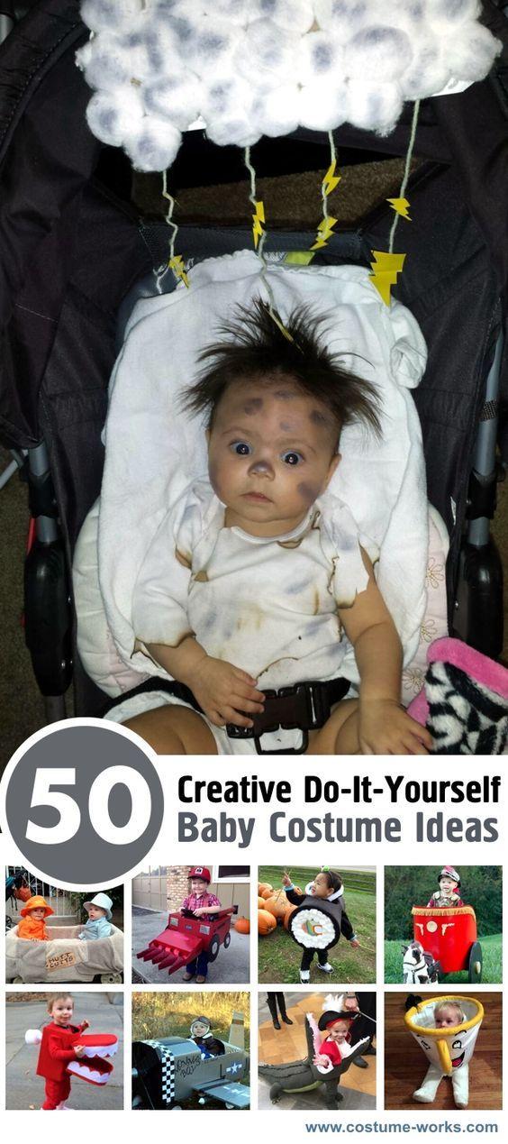 50 Creative DIY Baby Costume Ideas Costumes, Halloween costumes - do it yourself halloween costume ideas