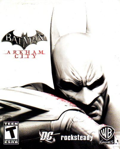Batman Arkham City 3 Ps3 Instruction Booklet Sony Playstation 3 Manual Only No Game Pamphlet Only No Game Latest Video Games Arkham City Batman Arkham City