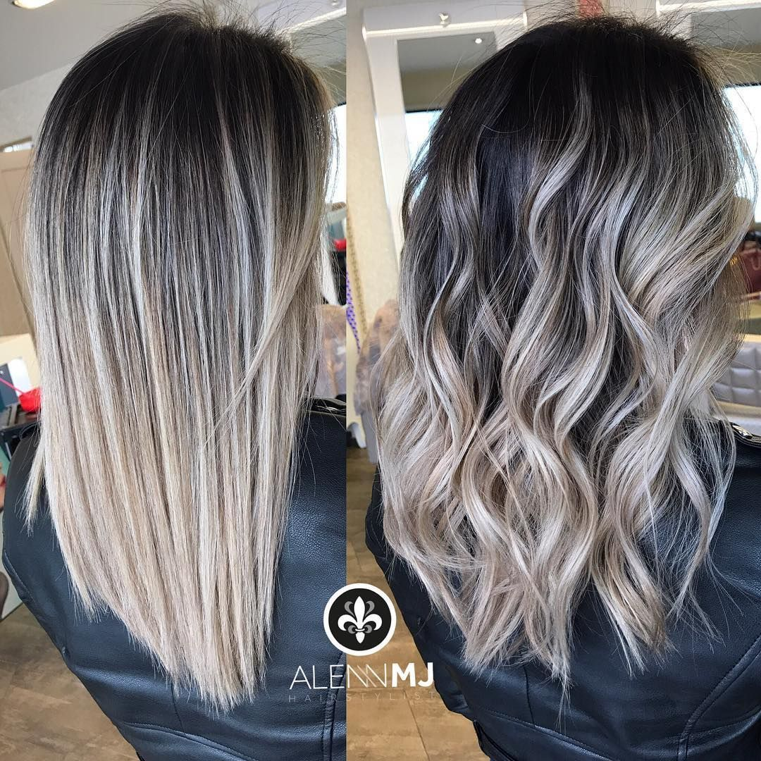 Gefällt 3872 Mal 23 Kommentare  HairstylistBarberEducator alennmj auf Instagram Straight vs Curly    First transformation that I did in Switzerland for this time  So... #ashblondebalayage