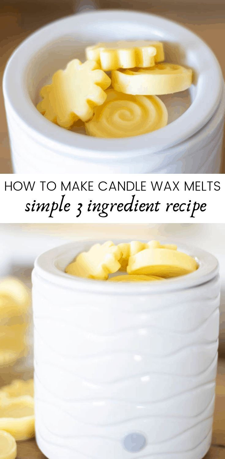 How to Make Candle Wax Melts