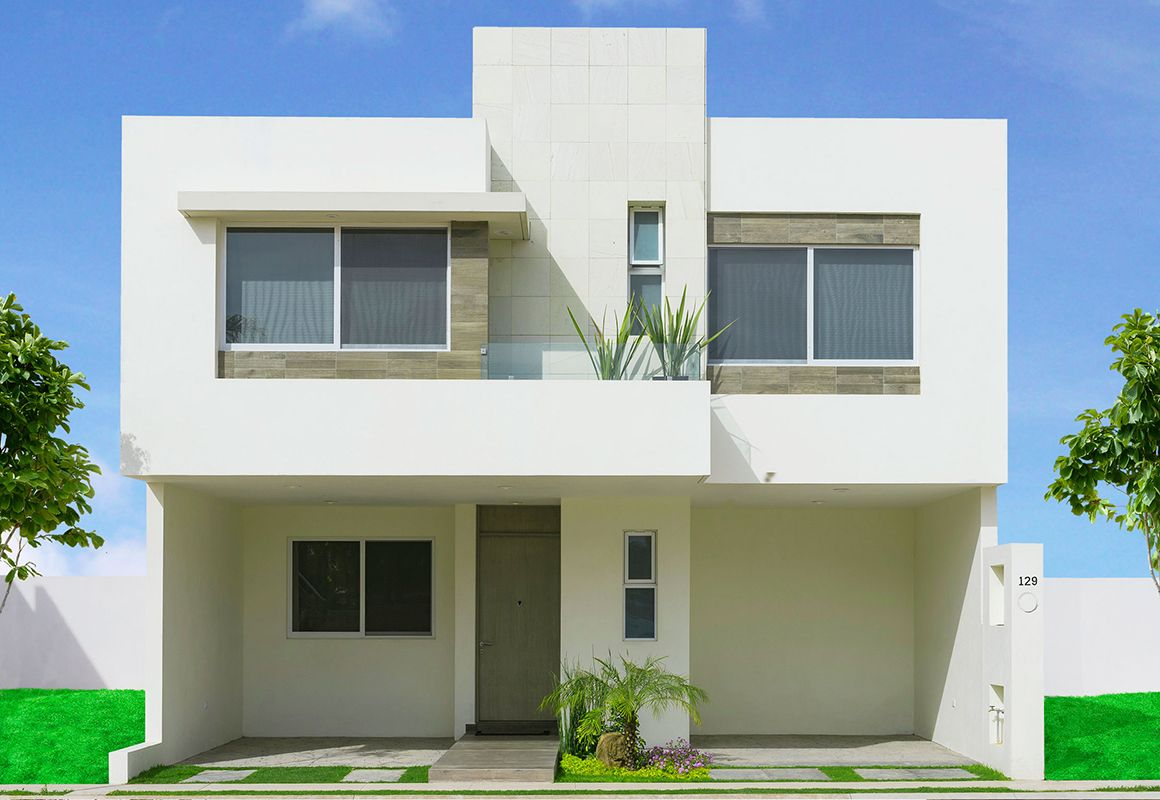 Fotos e im genes de fachadas de casas minimalistas o for Casas prefabricadas minimalistas