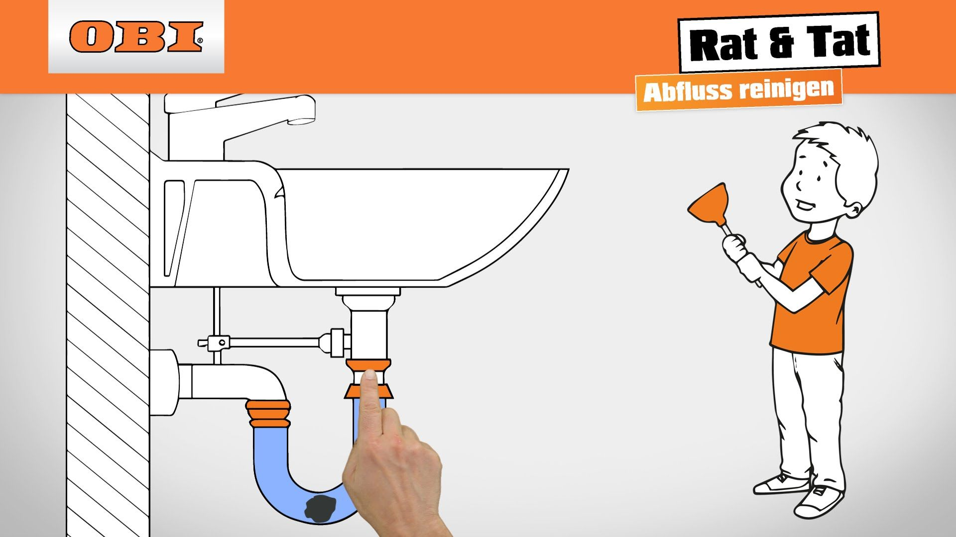 Abfluss reinigen - Rat & Tat | Renovieren & Reparieren | Pinterest ...
