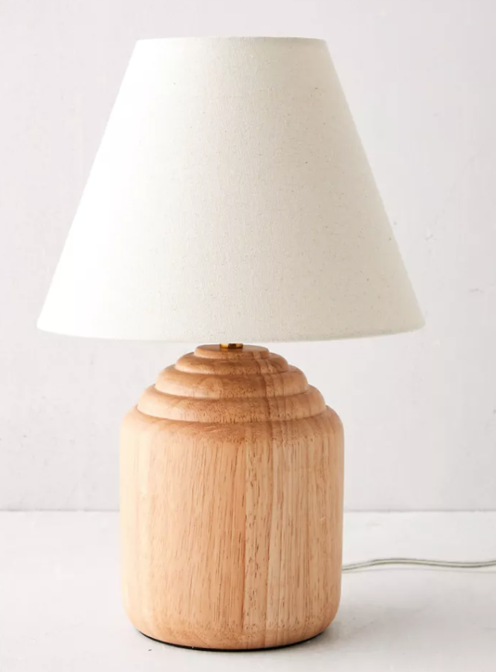 Lucas Wood Table Lamp Table Lamp Wood Rustic Table Lamps Bedside Lamps Wood