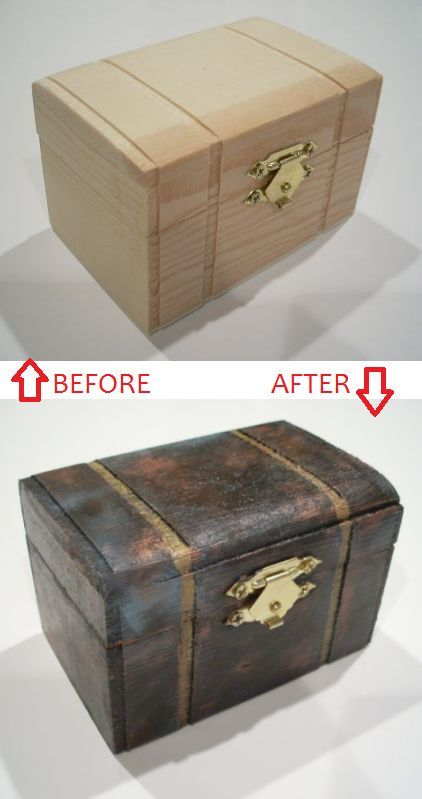 Wooden Box Craft Ideas At Hp98 Roccommunity