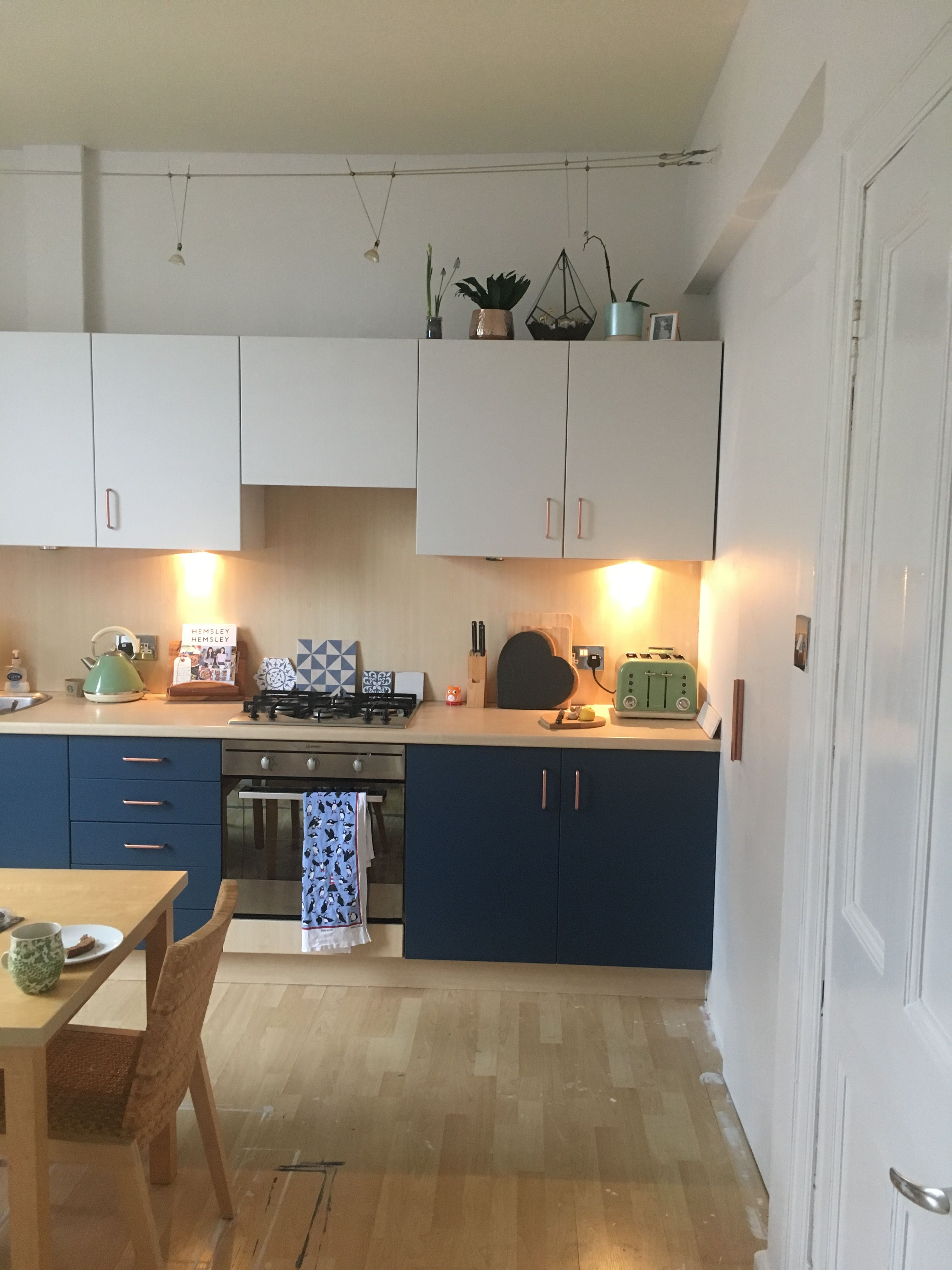 Best Our New Kitchen Cabinets Painted In Farrow And Ball 400 x 300